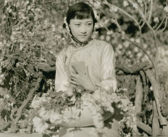 Chinese woman in traditional dress